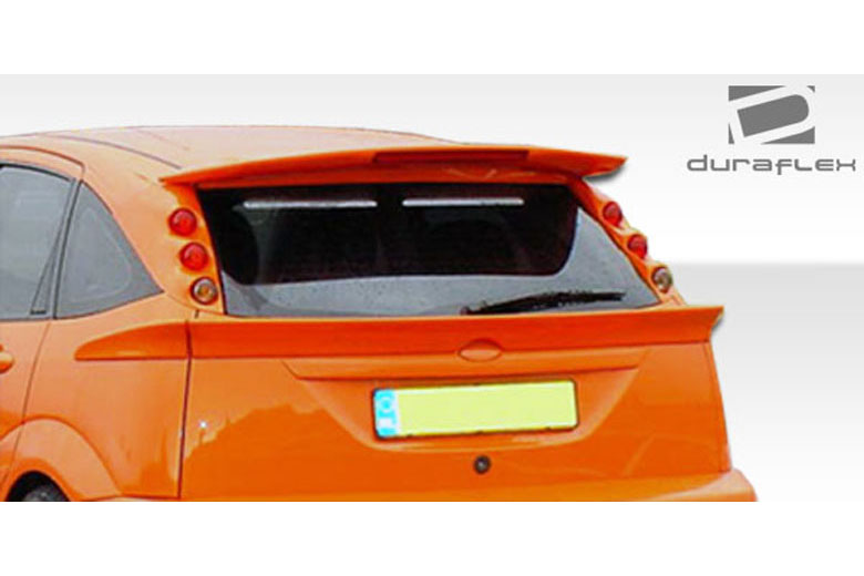 2007 Ford Focus Duraflex 3-Piece Spoiler