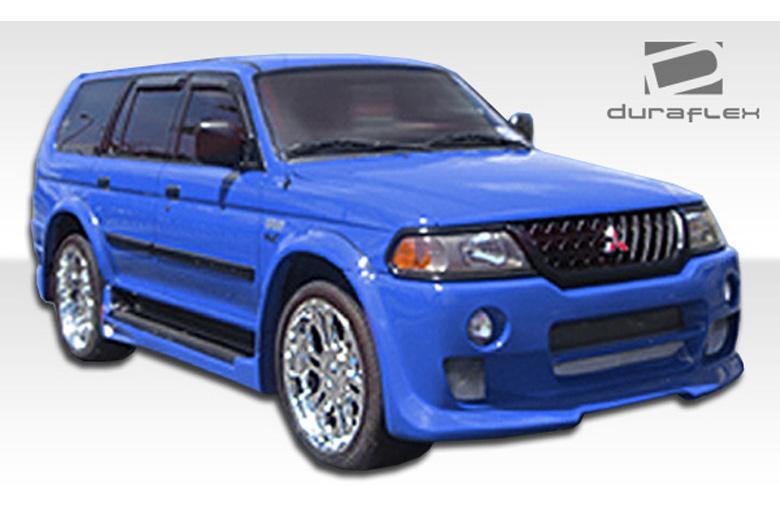 duraflex mitsubishi montero sport 2000 2003 platinum body kit - Mitsubishi Montero 2000 Custom