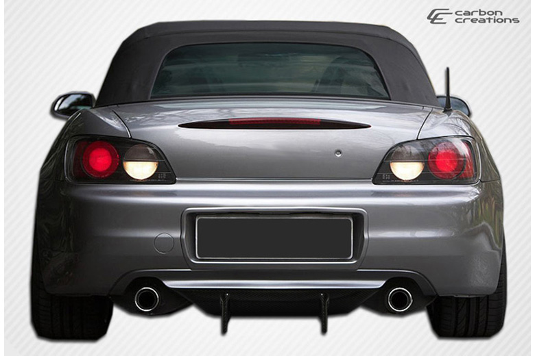 2002 Honda S2000 Carbon Creations Type F Rear Lip (Add On)