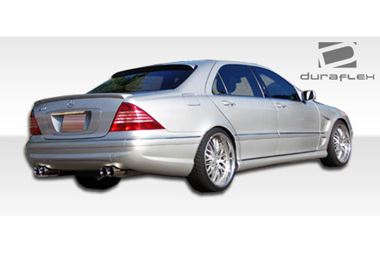 2003 Mercedes S-Class Duraflex AMG Look Bumper (Rear)