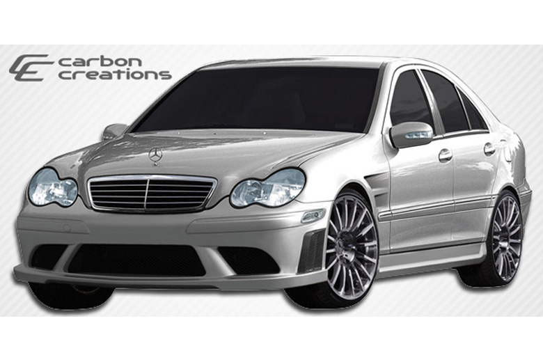 2001 Mercedes C-Class Carbon Creations Morello Edition Bumper (Front)