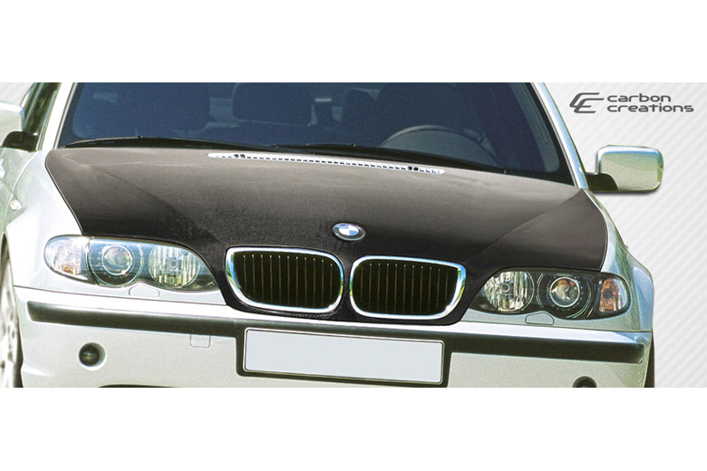 2005 BMW 3-Series Carbon Creations Hood
