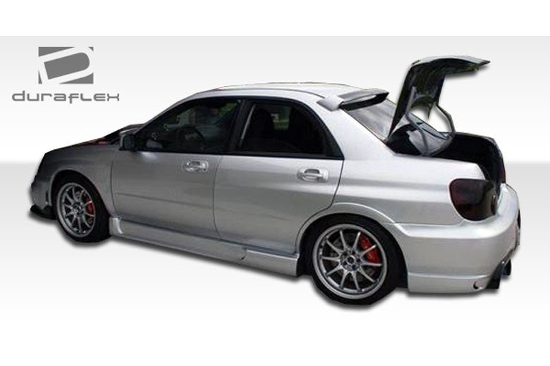 duraflex subaru wrx 2002 2007 i spec sideskirts. Black Bedroom Furniture Sets. Home Design Ideas