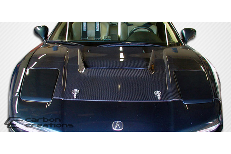 2002 Acura NSX Carbon Creations Type R Hood