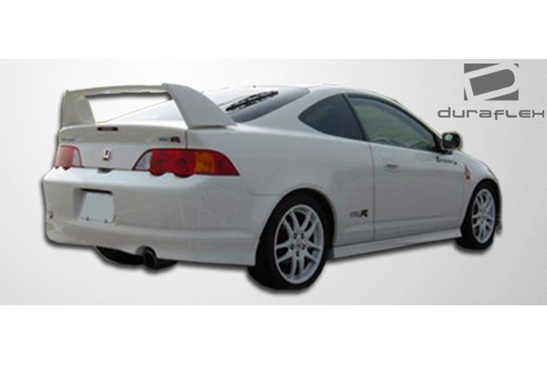 duraflex acura rsx 2002 2006 type r spoiler. Black Bedroom Furniture Sets. Home Design Ideas