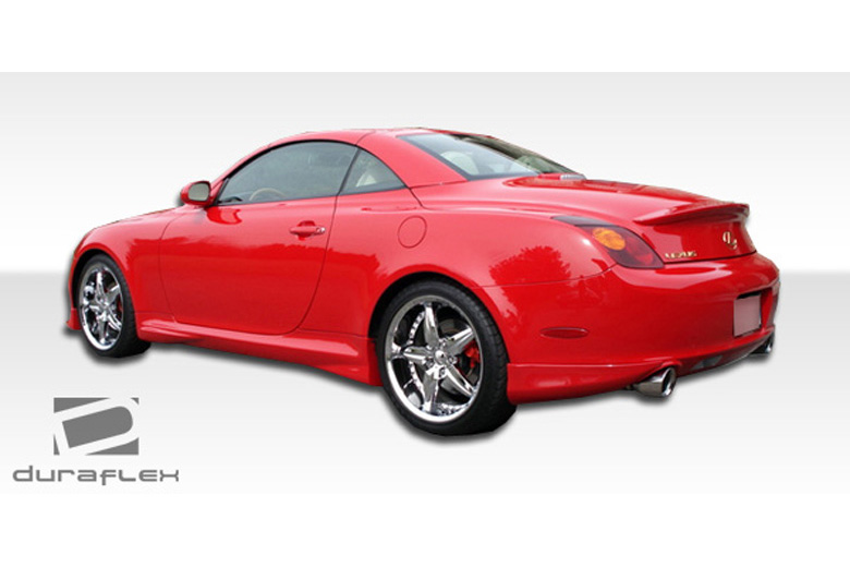 2009 Lexus SC Duraflex VIP Rear Lip (Add On)