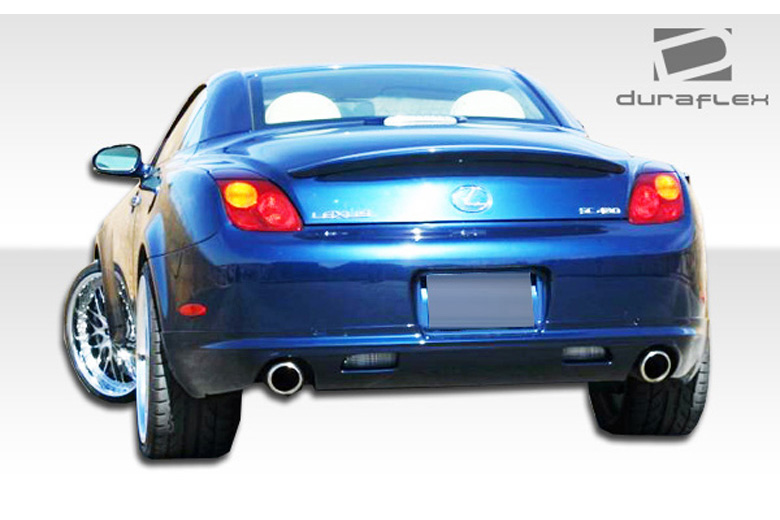 2009 Lexus SC Duraflex W-1 Rear Lip (Add On)