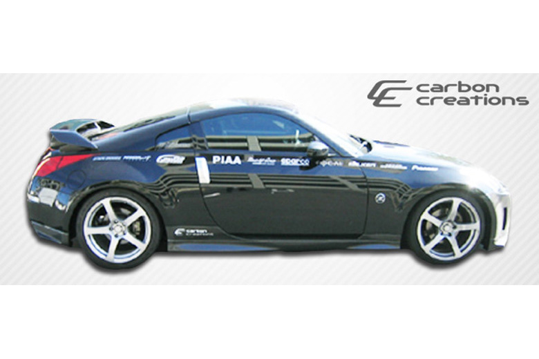 2007 Nissan 350Z Carbon Creations N-1 Sideskirts