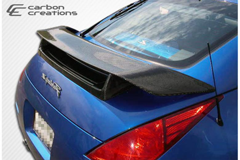 2008 Nissan 350Z Carbon Creations N-1 Spoiler