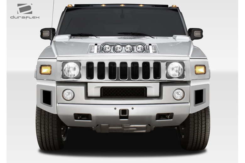 2006 Hummer H2 Duraflex BR-N Front Lip (Add On)