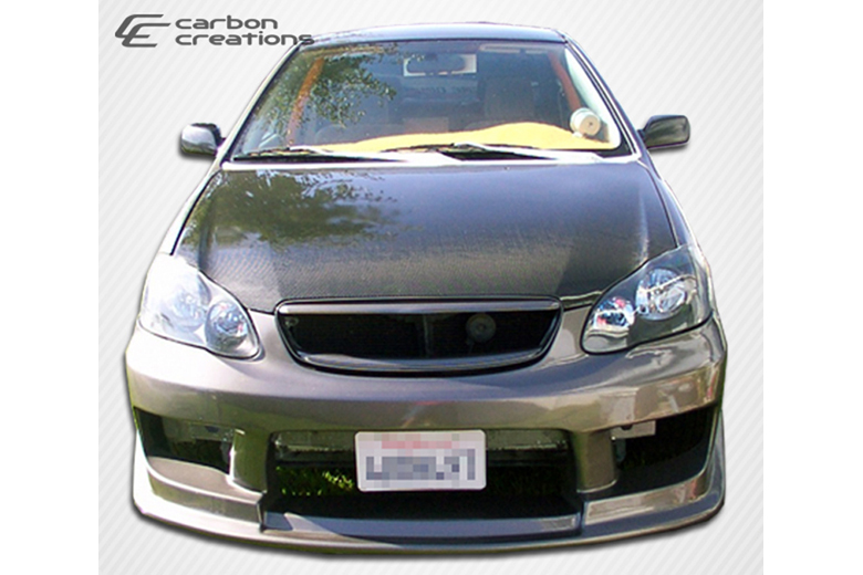 2006 Toyota Corolla Carbon Creations Hood