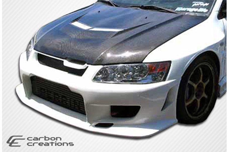 2005 Mitsubishi Evolution Carbon Creations Vader 2 Hood