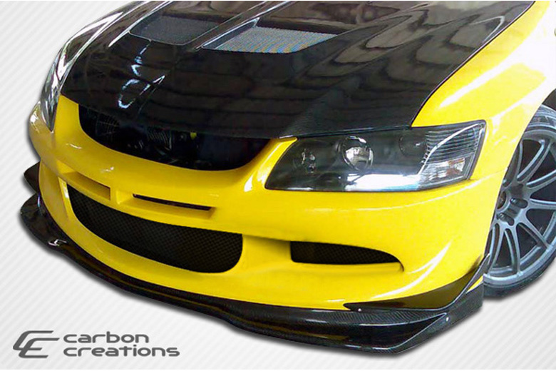 2005 Mitsubishi Lancer Carbon Creations VR-S Front Lip (Add On)