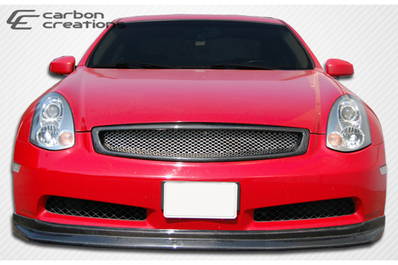 2006 Infiniti G35 Carbon Creations D-Spec Front Lip (Add On)