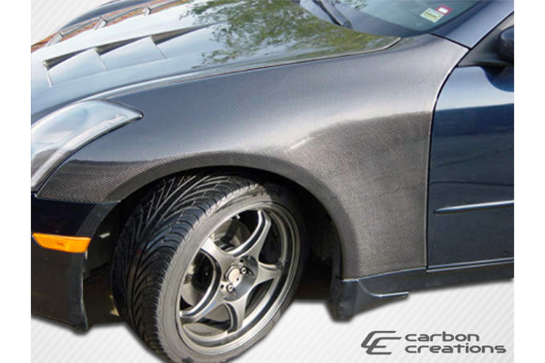 2006 Infiniti G35 Carbon Creations Fender