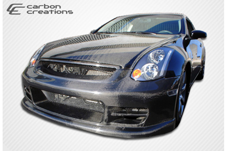 2006 Infiniti G35 Carbon Creations TS-1 Bumper (Front)