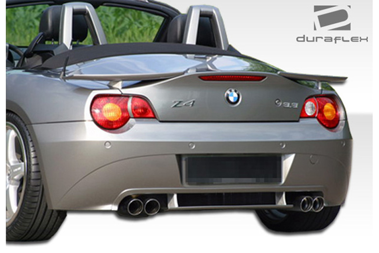 2005 BMW Z4 Duraflex HM-S Rear Lip (Add On)