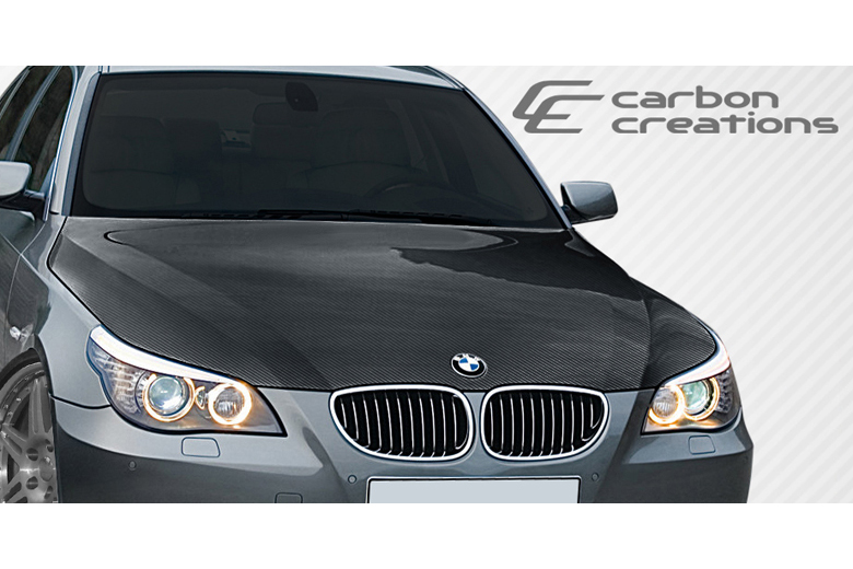 2005 BMW 5-Series Carbon Creations Hood