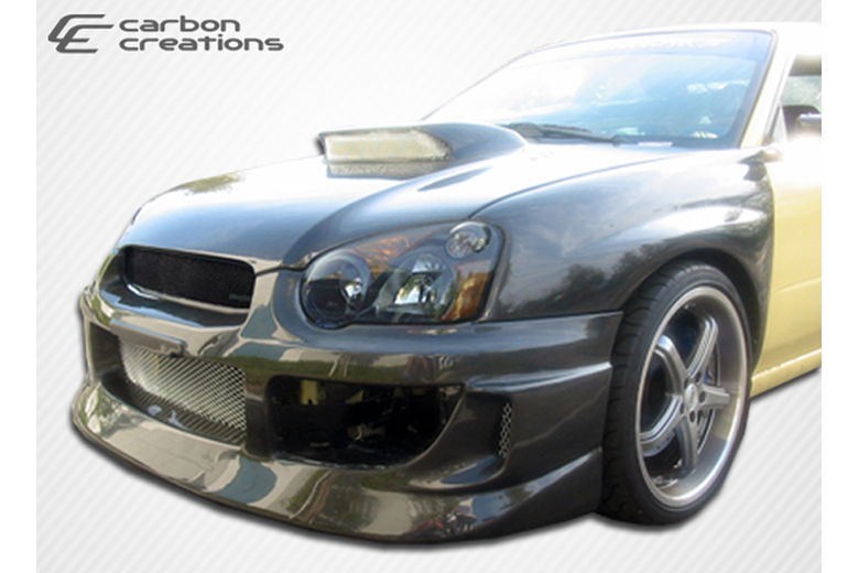 2004 Subaru WRX Carbon Creations GT Competition Bumper (Front)
