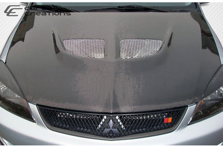 2005 Mitsubishi Lancer Carbon Creations Evo Hood