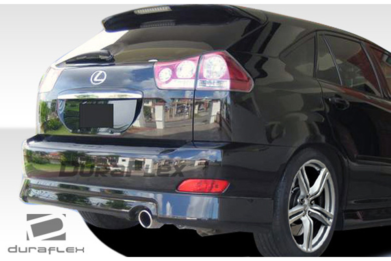 2006 Lexus RX Duraflex Platinum Rear Lip (Add On)