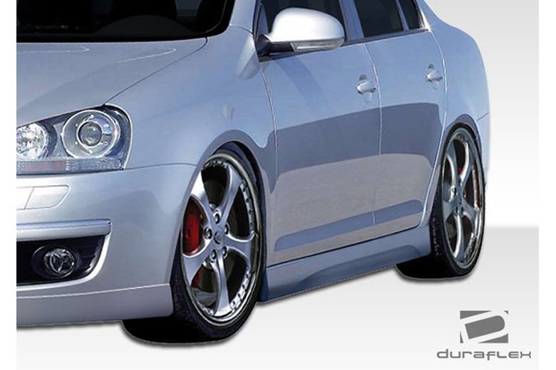 2009 Volkswagen Rabbit Duraflex Executive Sideskirts