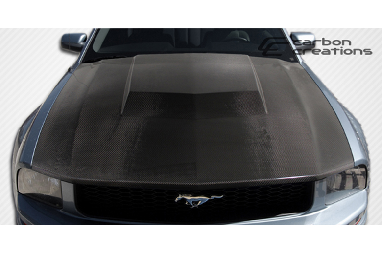 2007 Ford Mustang Carbon Creations Eleanor Hood