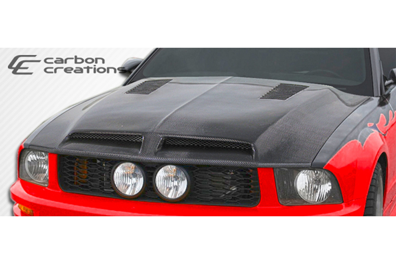 2007 Ford Mustang Carbon Creations GT500 Hood