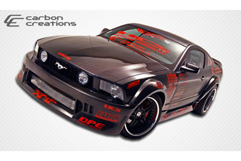 2007 Ford Mustang Carbon Creations Hot Wheels Body Kit