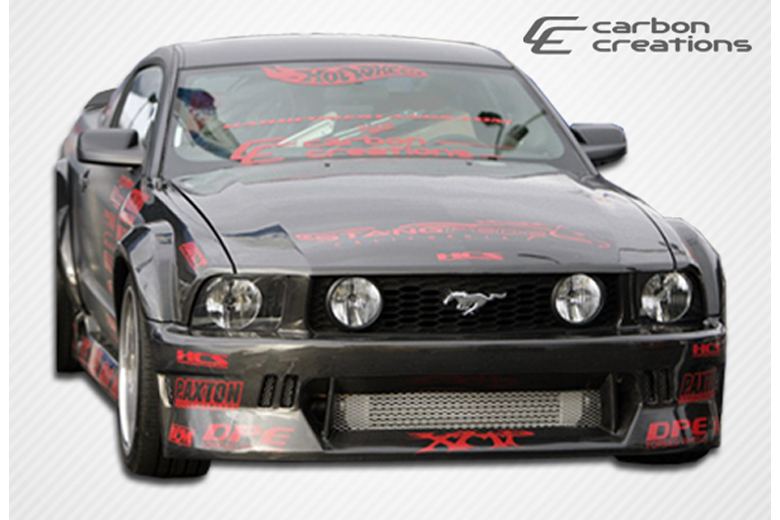 2007 Ford Mustang Carbon Creations Hot Wheels Bumper (Front)