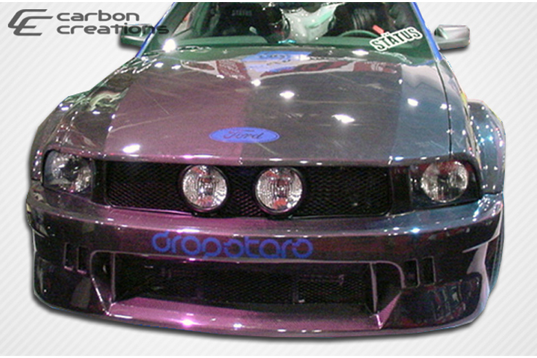 carbon creations ford mustang 2005 2009 hot wheels body kit. Black Bedroom Furniture Sets. Home Design Ideas