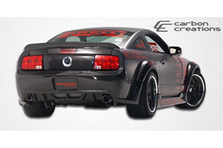 2007 Ford Mustang Carbon Creations Hot Wheels Bumper (Rear)