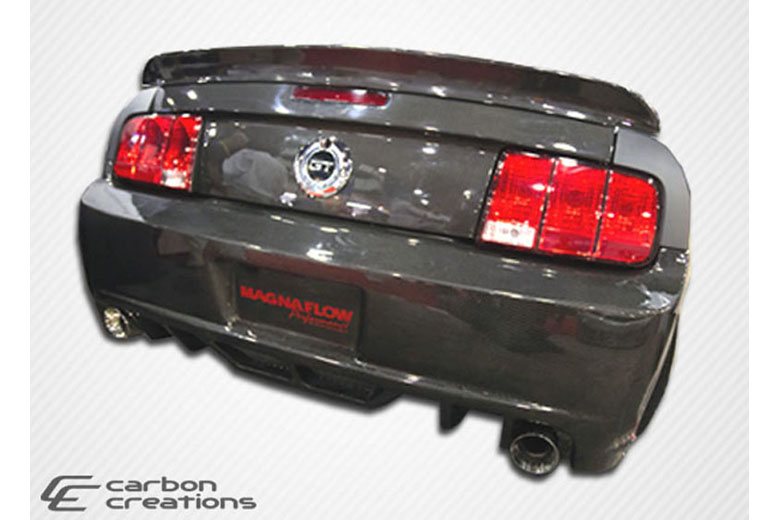 2008 Ford Mustang Carbon Creations Hot Wheels Spoiler