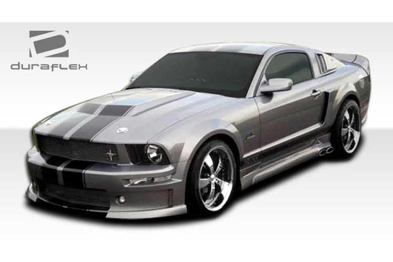 duraflex ford mustang 2005 2009 cvx body kit. Black Bedroom Furniture Sets. Home Design Ideas