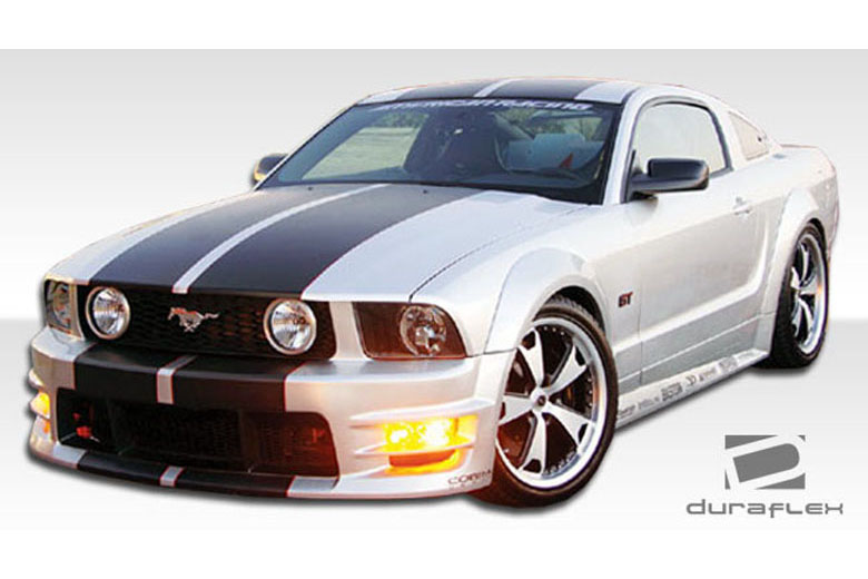duraflex ford mustang 2005 2009 gt500 body kit. Black Bedroom Furniture Sets. Home Design Ideas
