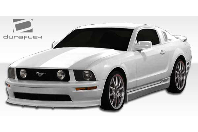 duraflex ford mustang 2005 2009 racer 2 body kit. Black Bedroom Furniture Sets. Home Design Ideas