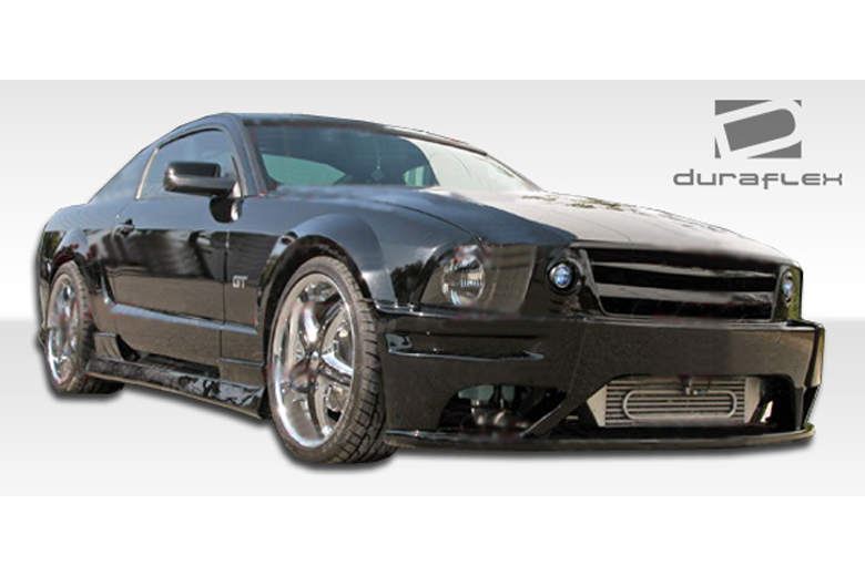 duraflex ford mustang 2005 2009 stallion body kit. Black Bedroom Furniture Sets. Home Design Ideas