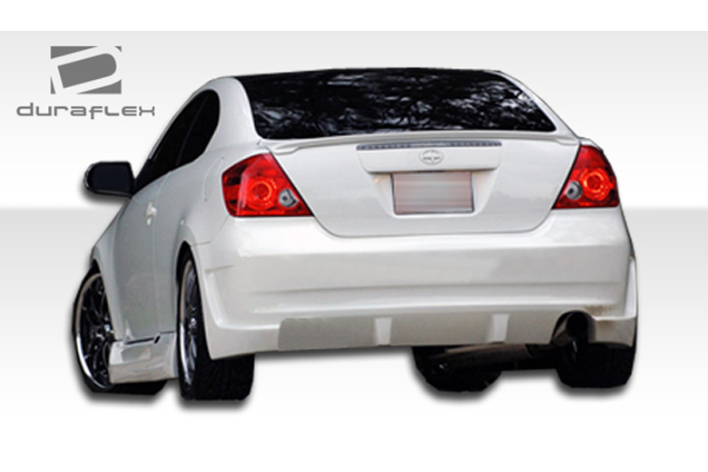 duraflex scion tc 2005 2010 kr s rear bumper. Black Bedroom Furniture Sets. Home Design Ideas
