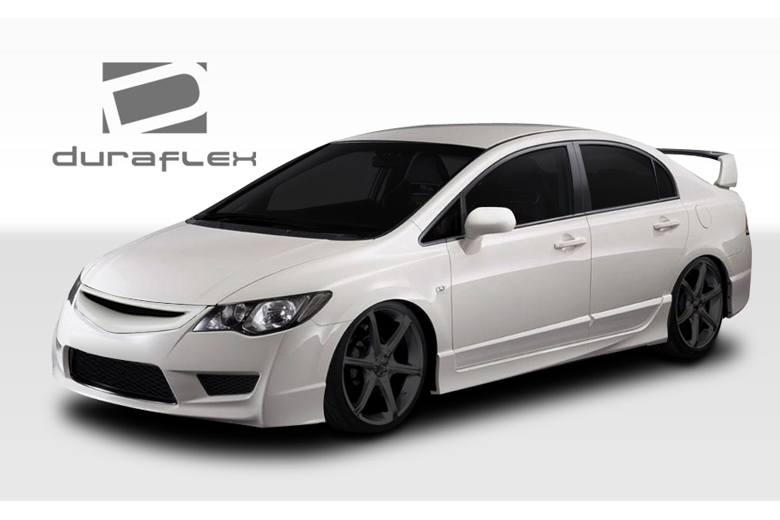 duraflex honda civic 2006 2011 type r body kit. Black Bedroom Furniture Sets. Home Design Ideas
