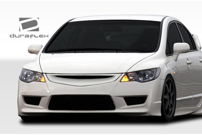 duraflex honda civic 2006 2011 type r front bumper. Black Bedroom Furniture Sets. Home Design Ideas