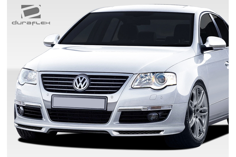 2010 Volkswagen Passat Duraflex A-Tech Front Lip (Add On)