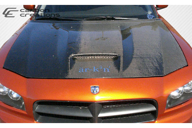 2007 Dodge Charger Carbon Creations SRT Look Hood