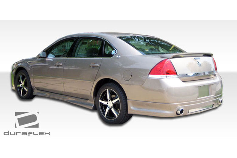 2011 Chevrolet Impala Duraflex Racer Rear Lip (Add On)