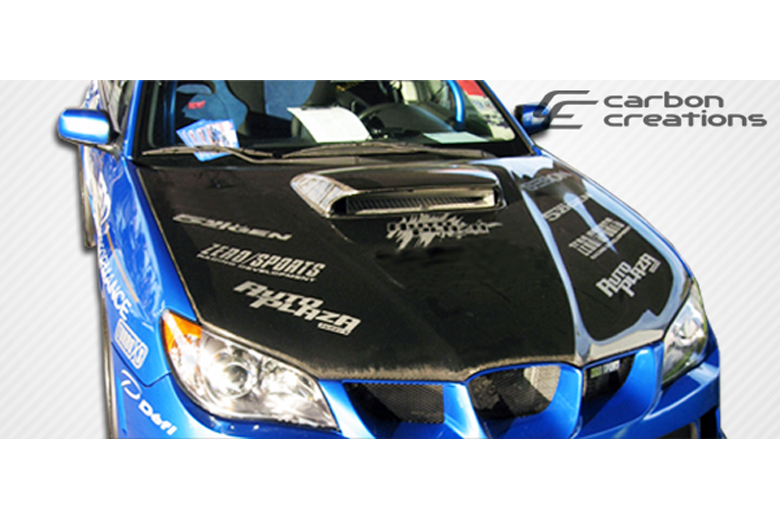 2007 Subaru WRX Carbon Creations STI Look Hood