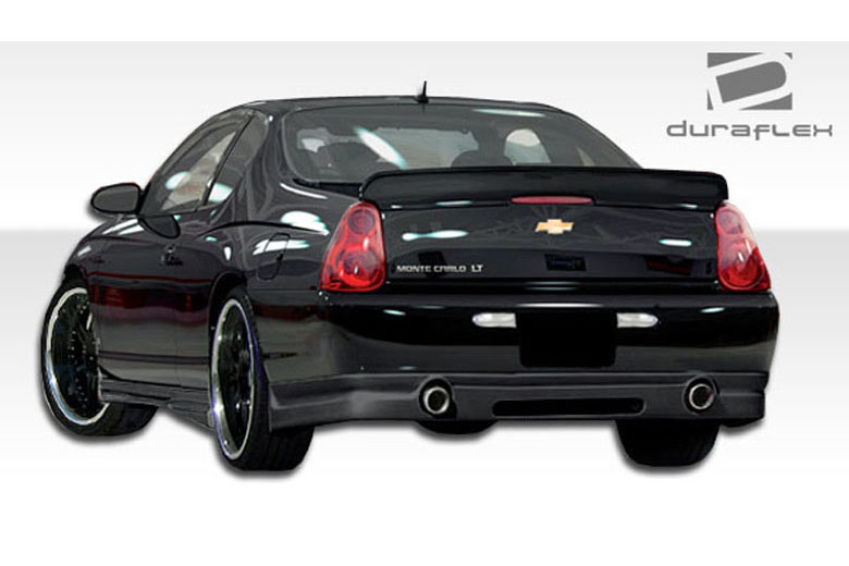 2006 Chevrolet Monte Carlo Duraflex Racer Rear Lip (Add On)