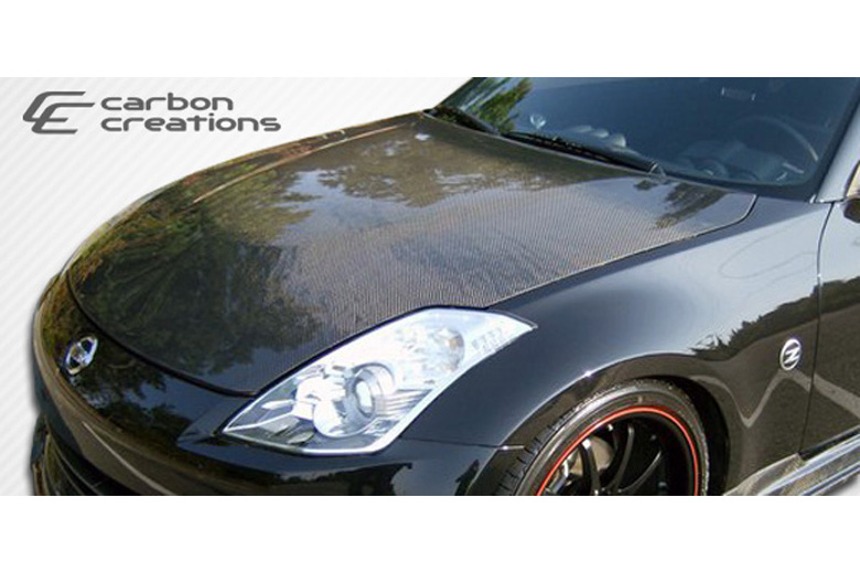 2008 Nissan 350Z Carbon Creations Hood
