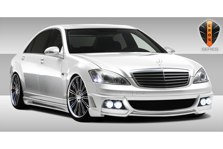 2010 Mercedes S-Class Duraflex Eros Version 2 Body Kit