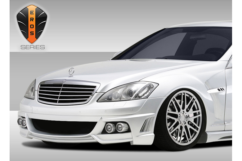 2010 Mercedes S-Class Duraflex Eros Version 2 Bumper (Front)