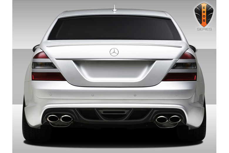 2010 Mercedes S-Class Duraflex Eros Version 2 Bumper (Rear)