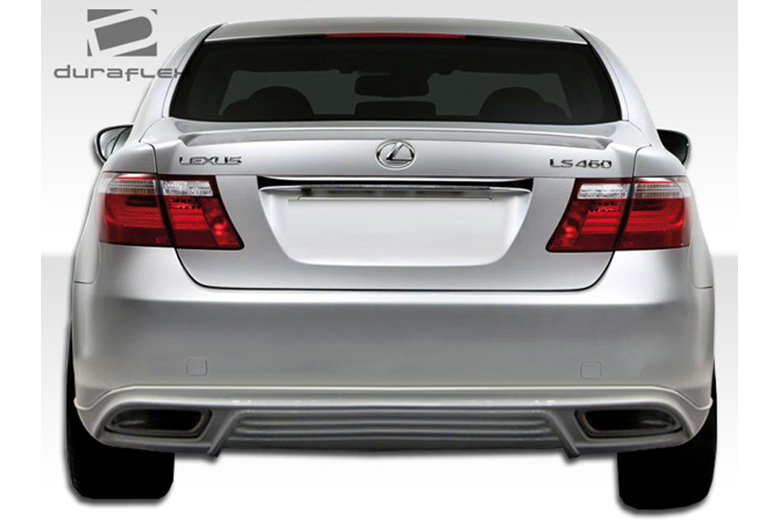 2007 Lexus LS Duraflex W-1 Rear Lip (Add On)